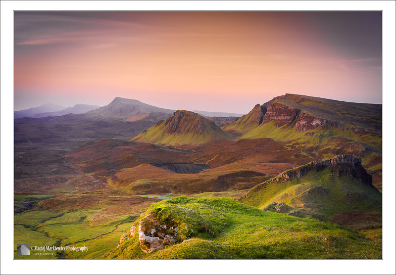Photo: Quiraing, part of the Trotternish Ridge on the Isle of Skye in Scotland