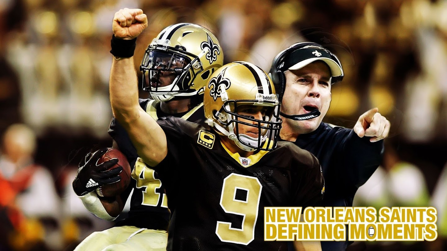 Watch New Orleans Saints: Defining Moments live