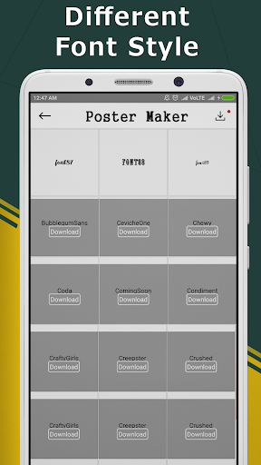 Poster Maker- Flyer Design,Banner Maker & Ad Maker 1.1.9 screenshots 1