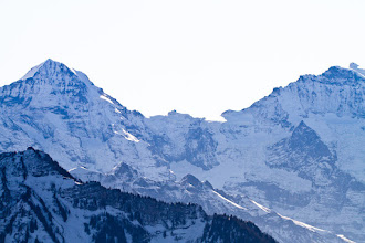 Photo: Mönch, Jungfrau and between the Jungfrauenjoch