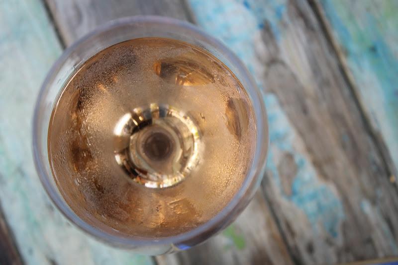 Bicchiere di rosè di lm27