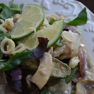 Icelandic Haddock in Lemongrass Basil Sauce.