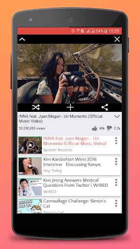PlayOver for Youtube : play tube and music radio 1.0.5 screenshots 2