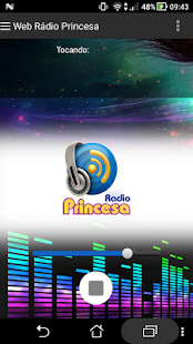 Web Rádio Princesa - náhled