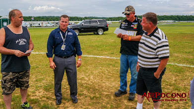 Photo: Pocono Raceway COO Nick Igdalsky. None of this would have been possible without him. He allowed us a reserved section for our activities 6 years ago and welcomes us back every year. Thanks Nick!