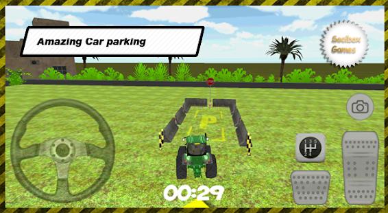 3D-Tractor-Car-Parking 1
