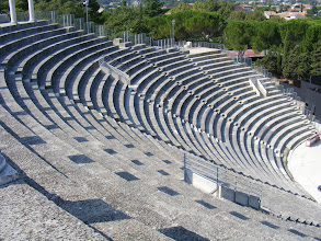 Photo: The 6000 people in the stands saw entertainment of a variety of sorts, but an important part was educational: plays emphasized Roman history and proper Roman morals and behavior – important information for citizens in outlying provinces.