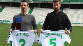 Flaño y Herrero, bajas por lesión en el equipo cordobesista.
