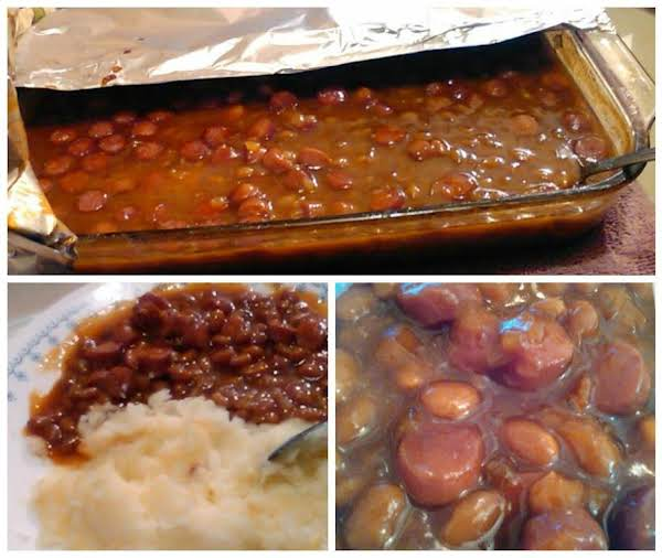 Jammie's Sinfully Sweet Bbq & Sausage Baked Beans Recipe