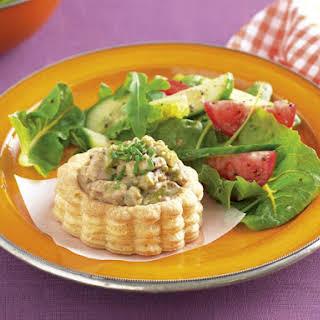 Chicken and Asparagus Puffs.