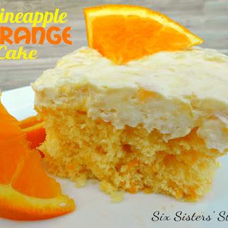 Pineapple Orange Cake.