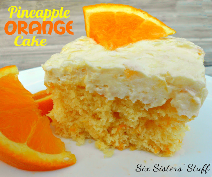 Pineapple Orange Cake Recipe