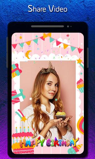 Birthday Video Status Maker : Photo Slideshow ss2