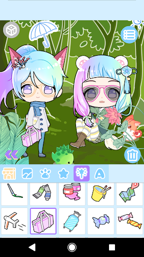 Cute Avatar Maker: Make Your Own Cute Avatar 2.0.2 Screenshots 2