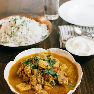 Kerala Coconut Chicken Curry.