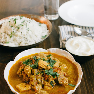 Kerala Coconut Chicken Curry.