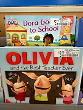 Photo: I find these cute Nickelodeon books and they are ones I don't have at home to donate.  We love Olivia and the Dora goes to school seems perfect for back to school.