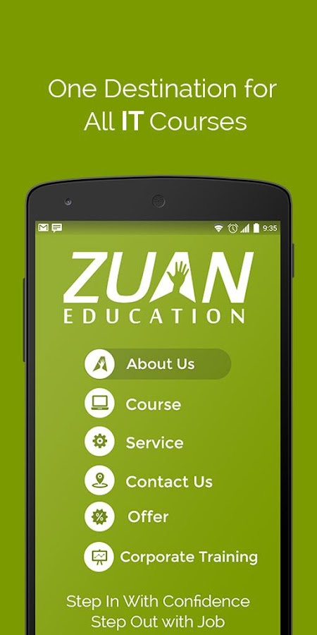 Zuan Education - IT Courses- screenshot