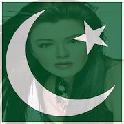 Flag Face Photo - Pakistan