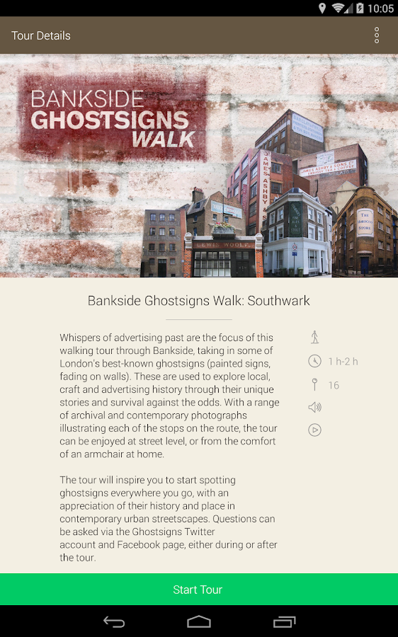 Ghostsigns Tours- screenshot