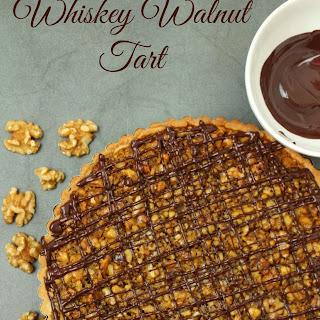 Whiskey Walnut Tart