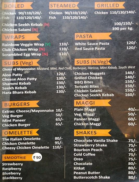 Da Dietoz Cafe menu 2