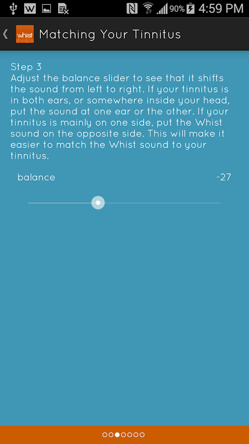 Whist - Tinnitus Relief- screenshot