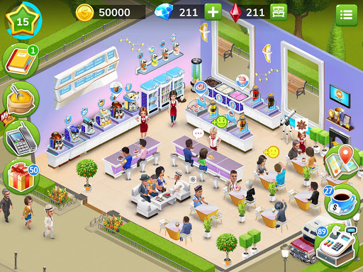My Cafe u2014 Restaurant game apkdebit screenshots 18