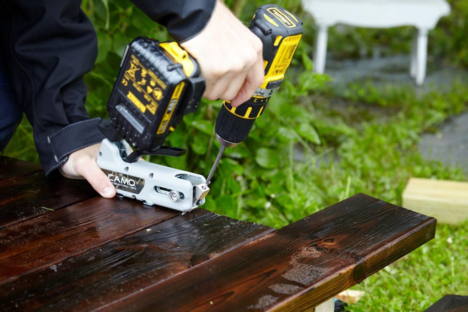 Verwenden Sie beim Bau einer Terrasse gute Werkzeuge