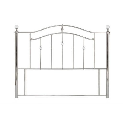 Serene Ashley Headboard Black Nickel