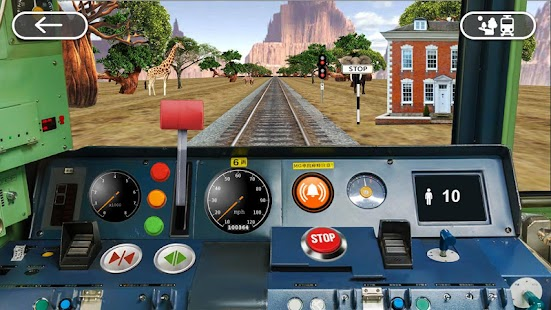 [Train Driving 3D Simulator] Screenshot 1
