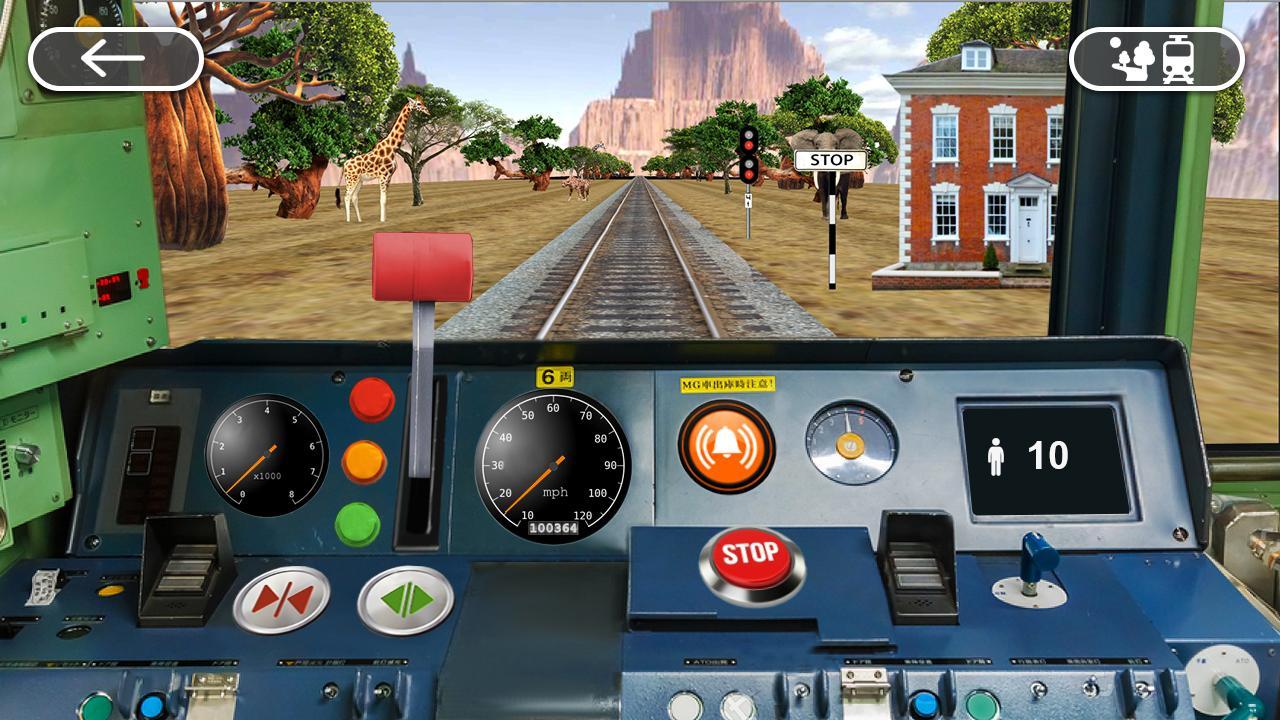 Screenshots of Train Driving Simulator for iPhone
