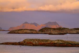 Photo: Inseln bei Sonnenuntergang