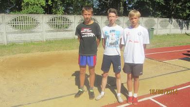 Photo: Medaliści w komplecie.