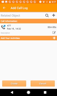 Call Tracker for OnePageCRM- screenshot thumbnail