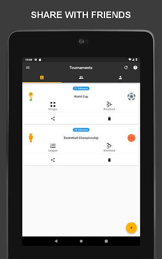 Winner - Tournament Maker App, League Manager 9.1.0 Screenshots 12