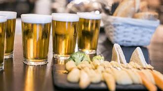 La cerveza es la bebida estrella.