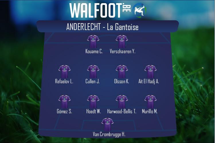 Anderlecht (Anderlecht - La Gantoise)