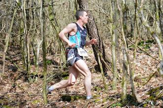 Photo: Course hors stade  22/03/2014  Trail des Trois Chapelles Bains-sur-Oust  15 km  Vivien Laporte  Bruz Athlétisme / AS Orange Cesson