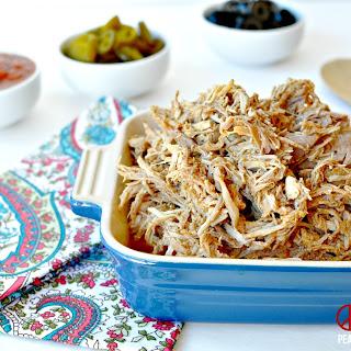 Shredded Taco Pork, Low Carb, Paleo, Gluten Free.