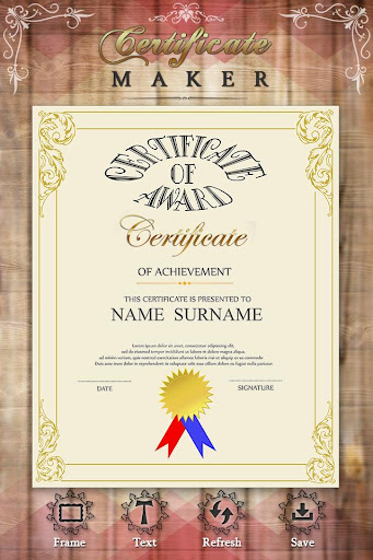 Certificate Maker by Mobi Digital Life (Google Play, United