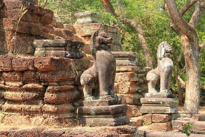 Храмы большого круга Ангкора в Камбодже