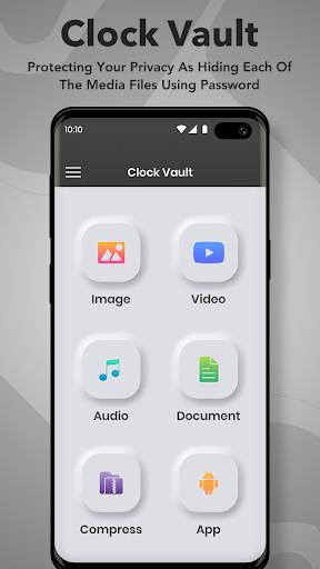 Clock Vault : Secret Photo Video Locker screenshot 1