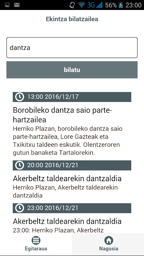 Santamasapp- screenshot