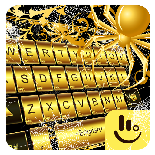 Gold Spider Knight Keyboard Theme