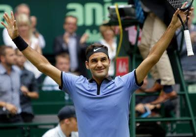 Roger Federer klopt Milos Raonic in finale Stüttgart