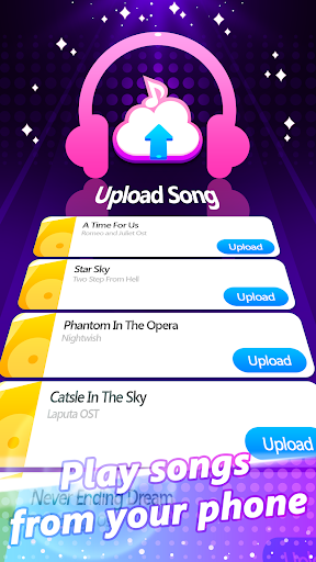 Piano Pink Tiles: Free Music Game screenshot 11