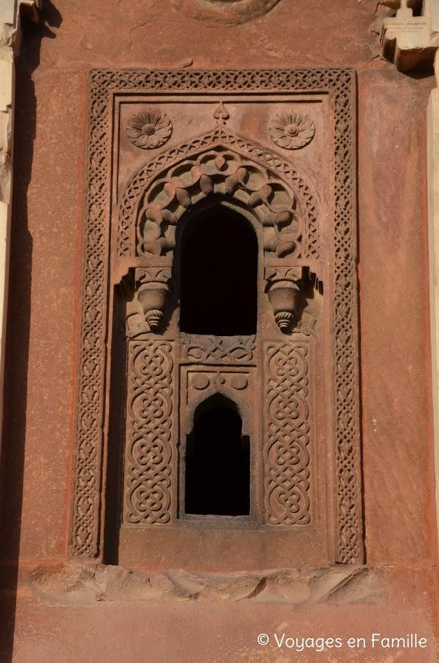 fort d'agra, palais de jahangir