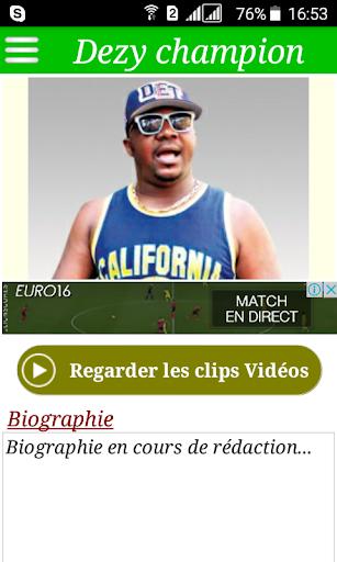 MP3 CHAMPION GRATUIT DEZY TÉLÉCHARGER
