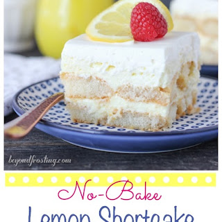 No-Bake Lemon Shortcake Icebox Cake